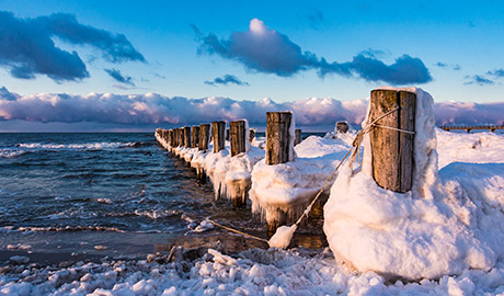 Meer-Winter mit Wellness in Koserow/Usedom an der Ostsee