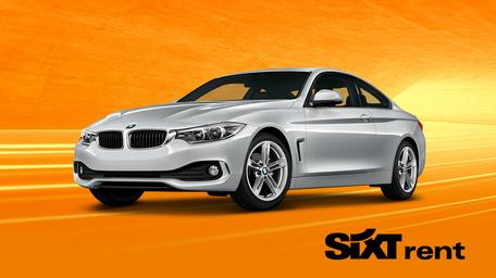 SIXT BMW silber